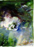 Verts paradis Nymphe d'eau -Premier prix Jasmin-