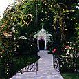 Portail et grilles du jardin créées par Michel Charrier