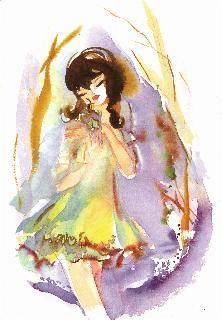 Sous-bois-de-réglisse-d'anis-et-de-lierre-violettes-aquarelle-Miche-Charrier-Lolita-Lempicka-parfums
