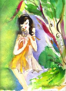 Lolita-Lempicka-premières-aquarelle-premier-parfum-michelcharrier
