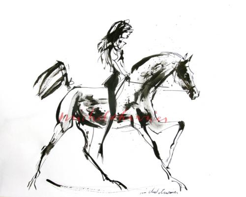 equestrianstyle-modeequestre-elegantrider-glamourourshorseandrider-beautyfulrider-BeautyfulGirlTorontoPanAmGames-BelledresseuseChantilly-Dessinchevalélégant-Cavalièreélégante-