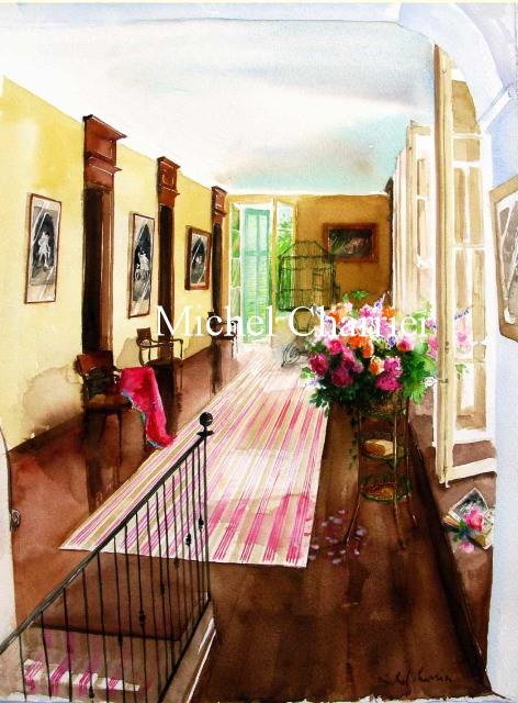 portrait-d'intérieur-aquarelle-portrait-de-maison-aquarelle-commandez-le-portrait-de-votre-maison-