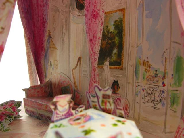 aquarelle d'interieurs-livre Esprit décoration Ladurée-